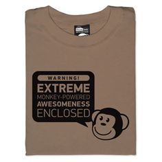 Think Geek - I have this shirt!!
