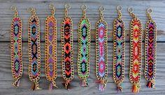 OOAK+friendship+bracelet+in+beautiful+neon+colors+by+BonkIbiza,+€30.00