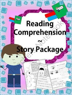 Reading Comprehension Story Package from mzmary on TeachersNotebook.com -  (22 pages)  -  These worksheets will definitely prove useful for those students who are beginning to read paragraphs.
