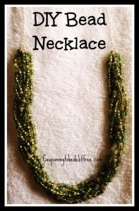 #DIY Bead Necklace.... so beautiful and cheap to make!
