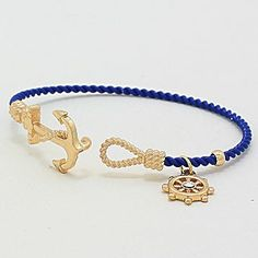 Nautical Cable Bracelet