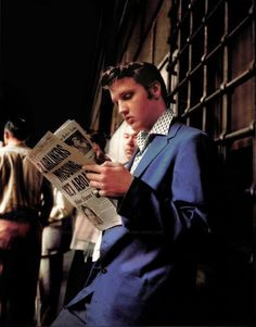 colorized: Elvis 50's.