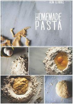 How to make Homemade Pasta \\ @Kita Roberts