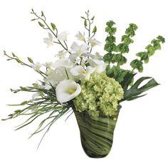 Dendrobium/ Hydrangea/ Calla Lily Silk Orchid Arrangment ARWF3899