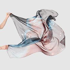 Horsehead Nebula Silk Scarf