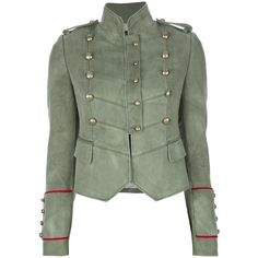 JOSEPH double breasted military blazer ($815) ❤ liked on Polyvore