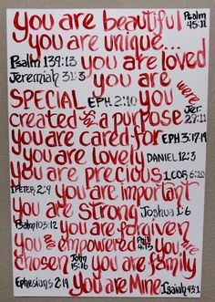 Canvas Painting Scripture Painting Bible by KeepsakesForever, $100.00
