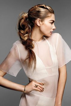 This twisty braid is what your ponytail dreams about at night.