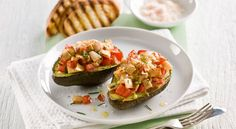 Grilled Avocado, Chicken and Cheese