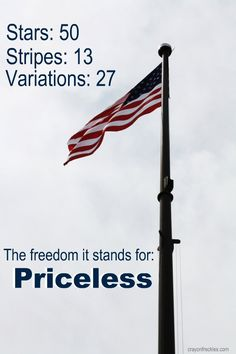 Our precious flag. None like it anywhere! Our precious freedoms… Being attacked today like never before… Respect the flag and save the Constitution and the Republic for which it stands!