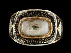 lover eye, eye ring, eye miniatur, mood ring, loversey ring