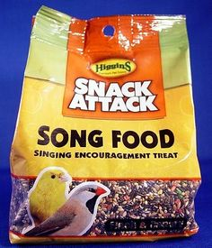 Higgins Snack Attack for Song Birds Canary Finch - Song Food 20 lbs