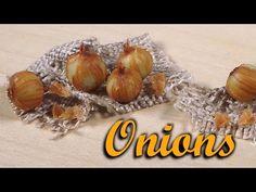 Miniature Onion - Polymer Clay Tutorial - YouTube