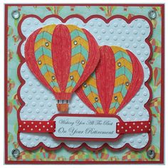 Handmade Retirement Card by Helle Belles Cards  Always need cards for this occassion