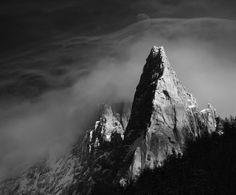 Dru Mountain in Chamonix Mont-Blanc