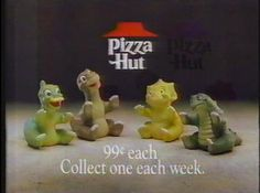 had these puppets !!! All of them ...Apparently my mom fed me lots of pizza