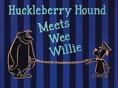 toon012 - The Huckleberry Hound / Title Card / Hanna Barbera (1958)