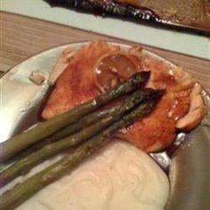 Pepper-Honey Cedar Plank Salmon #cool