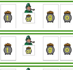 Pot of Gold Game and 6 other Speech and Language Games for St. Patrick's Day on Speaking of Speech - -  Pinned by @PediaStaff – Please Visit http://ht.ly/63sNt for all our pediatric therapy pins