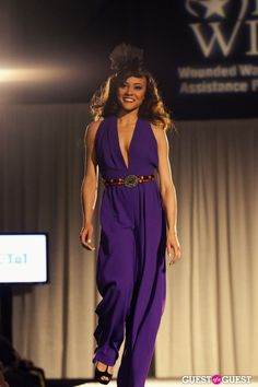 Miss DC Ashley Boalch on the Luke's Wings runway
