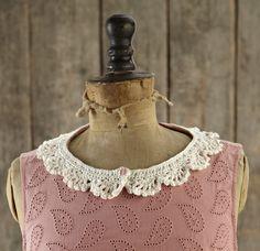 Free pattern! Crochet collar
