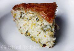 Byrek ose Lakror (Albanian Leek Pie) (via Global Table Adventure)