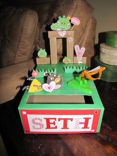Angry Birds Valentine's Box