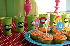 Sesame Street Birthday Party #birthday #party