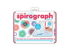 Spirograph! One of the best classic toys is still one of our kids' very favorites.
