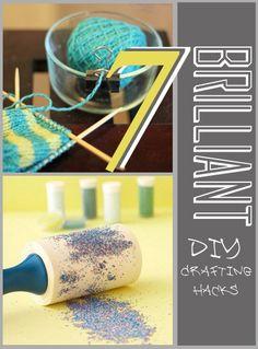 7 Brilliant DIY Crafting Hacks