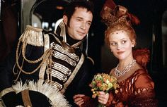 """Though it was a depressing story, I loved the costuming & faces in """"Vanity Fair""""."""