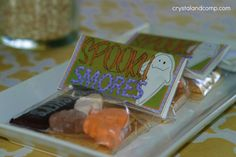 free printable for spooky smores
