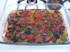 Oven Roasted Tomatoes and Olive Oil - COOKING - DIY, Sewing, jewelry, tutorials, needlework, paper crafts, cooking, tutorials, glass, work, swaps and so much more on Craftster.org.