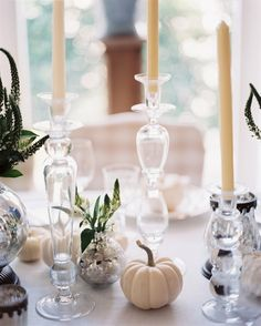 Chic pumpkin decor for your next fall fête!