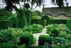 hedg, garden path, simpl garden, formal gardens, garden delight, glorious garden