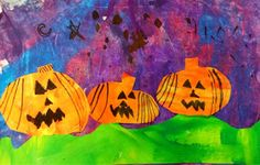Exploring Art: Elementary Art: Kindergarten Secondary Color pumpkins