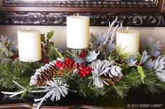Perfect for the mantel!