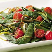Italian Roasted Snap Peas (great for all phases)