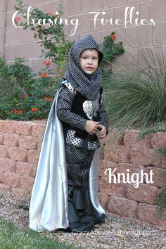 Knight Costume | Chasing Fireflies Halloween Costume @chasenfireflies