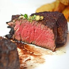 Filet Mignon with Herbed Butter