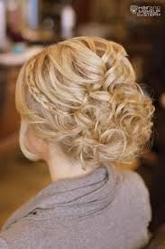 curly hair updos wedding - Google Search