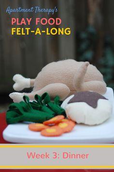 Play Food Felt-A-Lon
