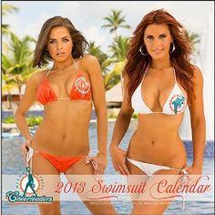 Miami Dolphins Cheerleaders 2013 Wall Calendar