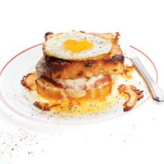 Croque Madame (Ham and Cheese With Fried Egg) | SAVEUR