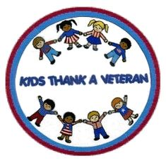 Kids thank a vet site