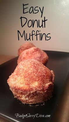 Easy donut muffins