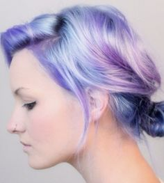 Just once, it would be fun to do something crazy like this with my hair!