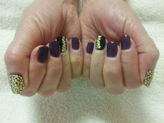 Lacey Palumbo Shellac nail design
