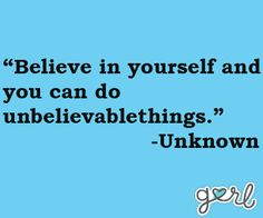 Believe in yourself and you can do unbelievable things. #ChitrChatr #EarlySubscribersPromo