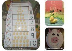 animal preschool theme unit | Weekly Wrap-Up: Farm Preschool Theme - itsybitsylearners.com